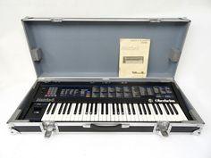 Oberheim Vintage Analog Synthesizer with Original Case & Japanese SN Badge & Manual Electronic Music, The Originals, Beautiful, Vintage, Vintage Comics