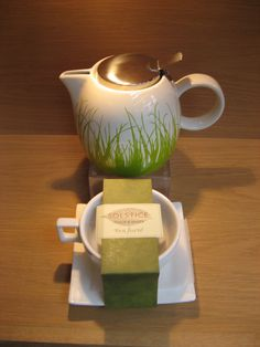Put the kettle on!  We now stock a variety of Tea Forte products.  Check out the tea pot, green grass design and Solstice cup and saucer.  Available at Best of Friends Gift Shop in the lobby of Winnipeg's Millennium Library. 204-947-0110 info@friendswpl.ca Green Grass, Cup And Saucer, Gifts For Friends, Kettle, Tea Pots, Cups, Tableware, Check, Shop