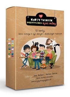 Karty Technik Pozytywnej Dyscypliny Jane Nelsen, Parenting, Cover, Books, Libros, Book, Book Illustrations, Childcare