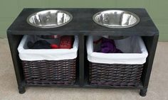 11 Awesome DIY Dog Bowls And Food Containers | Shelterness