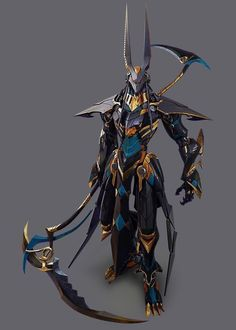 ArtStation is the leading showcase platform for games, film, media & entertainment artists. Anubis x grim reaper Dark Fantasy Art, Foto Fantasy, Fantasy Armor, Fantasy Character Design, Character Concept, Character Inspiration, Character Art, Armor Concept, Concept Art
