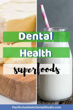 Dental Health Superfoods #BeautifulSmile  #DentalTips #DentalHealth #HealthyLiving #PALG Dental Hygiene, Dental Health, Dentistry Education, Cracked Tooth, Dental Design, Dental Laboratory, Free Dental, Cosmetic Dentistry