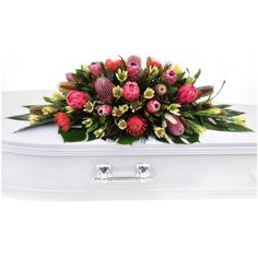 Order sympathy flowers & funeral flowers online 24 hours a day or call 1300 225 Funeral Flower Arrangements, Funeral Flowers, Wedding Flowers, Casket Flowers, Casket Sprays, Crochet Ripple, Sympathy Flowers, Flowers Online, Wedding Events