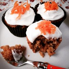 Foodie Quine: Carrot Cake Muffins and Apple & Custard Lasagne