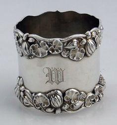 Gorham Antique Sterling Napkin Ring Circa 1900