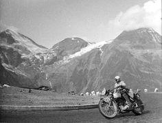 #255 Marjorie Cottle ascends an Alpine Pass ISDT 1939 (Technischen Museum Wien) via Speedtrack Tales
