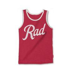 Prefresh Rad Tank Top - Red