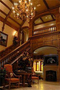 English Manor House style Foyer
