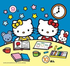 Hello Kitty Vans, Anime Rules, Baby Friends, Hello Kitty Wallpaper, Sanrio Characters, Twin Sisters, Kawaii Cute, Friend Pictures, Hello Gorgeous