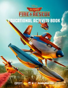 Disney Planes Fire and Rescue Educational Activity Book Printable