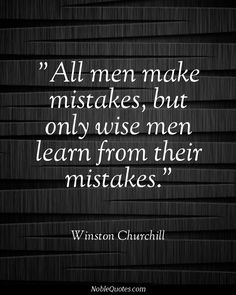 I wish politicians et al would remember this whenever they trot out the cliche 'lessons must be learned from this'.