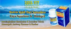 Squavit - The Nature Squalene Oil - Minyak Ikan Hiu Laut  Dalam