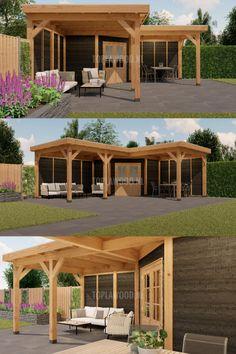 Modern Gazebo, Hot Tub Room, Outdoor Gardens, Bbq, Home And Garden, Industrial, Farmhouse, Backyard, Exterior