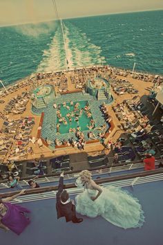 It would be a dream a wedding on cruise