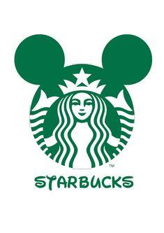 Logo Mash-up Disney Junior / Starbucks Marit
