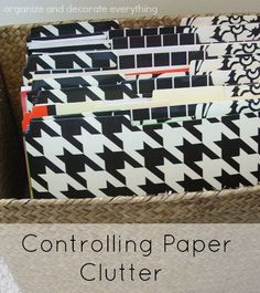 If you have papers papers everywhere then this is a must read post for you. It's full of great ideas to help you keep your paper under control. Paper Organization, Office Organization, Paper Clutter, Organizing Your Home, Organizing Tips, Easy Diy Crafts, Craft Tutorials, Getting Organized, Cleaning Hacks