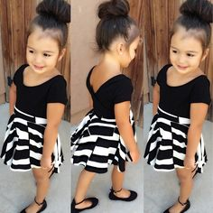 Ahh soo cute cant wait till my daughter gets a little older to dress her like this.