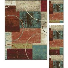 Decora Multi Set Contemporary Area Rug Set | Overstock.com Shopping - Great Deals on 5x8 - 6x9 Rugs