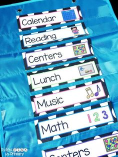 FREE schedule cards - Picture schedules help students know what your school day will look like