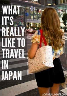 How do I even begin to describe what it's like to travel in Japan? It is an experience. It surrounds you. Every moment of every day is filled with new discoveries and cultural difference and utter delights. Everyone who has been knows exactly what I'm talking about. | Adventurous Kate