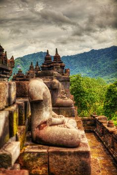 Borobudur Temple - One of the highlights of my trip to Indonesia. A must see if you're in Central Java.