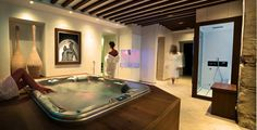 The Gentleman Hotel in Verona choose Carmenta wellness products for its spa. Steam Bath, Shower with Chromotherapy and ice fountain.
