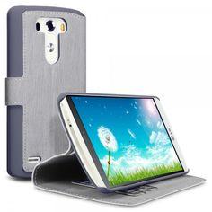 Θήκη LG G3 Πορτοφόλι by Covert (117-014-101) - Γκρι - myThiki.gr - Θήκες Κινητών-Αξεσουάρ για Smartphones και Tablets - Χρώμα Γκρι