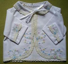 blusinha bordada bebe