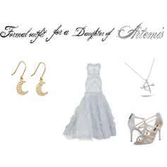 """""""Formal Outfit For a Daughter of Artemis"""" by kendra-daughter-of-hera on Polyvore"""