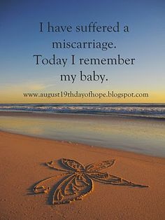 Hope after miscarriage
