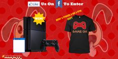 Win a Playstation 4 and a Game of Your Choice!