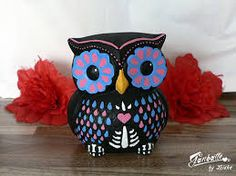 sugar skull owl - Google Search