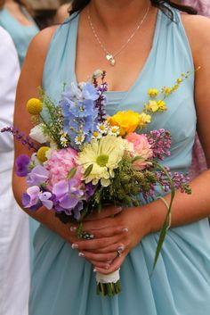 Flower Design Events: Impressionist Shades & Watercolour Tones for Richard & Linda's Summer Wedding at Marbury Church & Wrenbury Hall