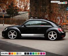 "Volkswagon Custom Parts sticker beetle decal aircooled volkswagen bug bus 3.5/"""