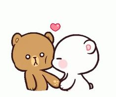 With Tenor, maker of GIF Keyboard, add popular Kawaii animated GIFs to your conversations. Share the best GIFs now >>> Love You Gif, Cute Love Gif, Cute Love Pictures, Kiss Animated Gif, Hug Gif, Kiss Gifs, Cartoon Kiss Gif, Cartoon Bear, Cute Couple Cartoon
