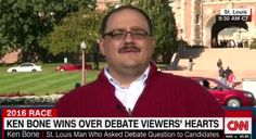 American Hero Ken Bone Wore His Iconic Red Sweater Because He Ripped The Pants Of His Olive Suit -  American Hero Ken Bone Wore His Iconic Red Sweater Because He Ripped The Pants Of His Olive Suit Blessed as we all were to have heard Mr. Bone preach his gospel at the debate imagine how much more beautiful a sight it would've been had he been wearing his treasured Olive Suit. Fecha: October 10 2016 at 11:28AM via Digg: http://ift.tt/2dGenqt - Sigueme en mi página de Facebook…