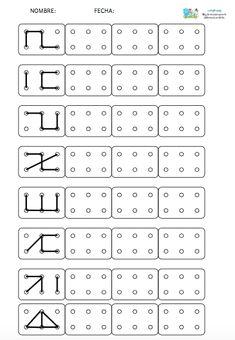 Preschool Writing, Preschool Learning Activities, Preschool Printables, Kids Learning, Alphabet Activities, Visual Perceptual Activities, Kindergarten Math Worksheets, Math For Kids, Kids Education