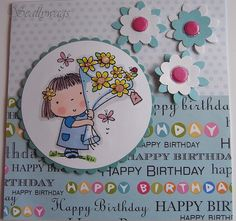 Betsy Bluebell Happy Birthday by Scallywags1, via Flickr
