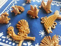 Vizovické pečivo – pro děti   Moje dílna Salt Dough, Bakery, Sugar, Cookies, Desserts, Crafts, Food, Image, Tailgate Desserts