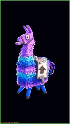 Lama pinata fortnite battle royale proyek untuk dicoba epic games fortnite llama costume - Fortnite llama background ...