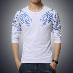2d812a026cb Men s Slim Long Sleeve T-shirt