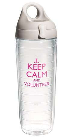 Coming this October! Keep Calm and Volunteer Tervis!