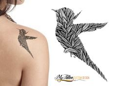 Do you want completely unique and personalized tattoo? Send us your idea and we'll help you designing a custom tattoo.