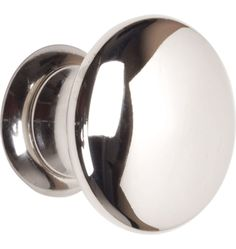 polished nickel knob