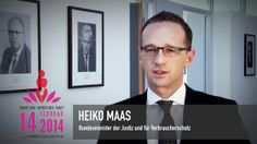 Heiko Maas, German Federal Minister of Justice and Consumer Protection, is Rising for Justice on 14 February 2014