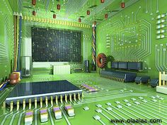 funny-electronics-engineeer-bed-room