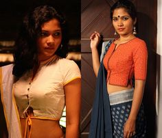 Cotton Saree Blouse Designs