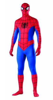Spiderman Second Skin Costume.
