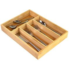 Bed Bath & Beyond's Kitchen Organization Sale | FN Dish - Behind-the-Scenes, Food Trends, and Best Recipes : Food Network | Food Network Kitchen Utensils, Kitchen Gadgets, Stackable Wine Racks, Vertical Storage, Desk With Drawers, Storage Hacks, Kitchen Organization, Cutlery, Bamboo