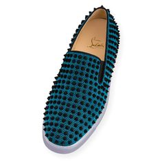 Men Shoes - Roller-boat Flat Techno Bee - Christian Louboutin